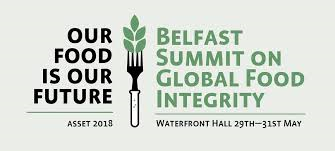 Belfast summit on Global food integrity 28th May 2018 image cover