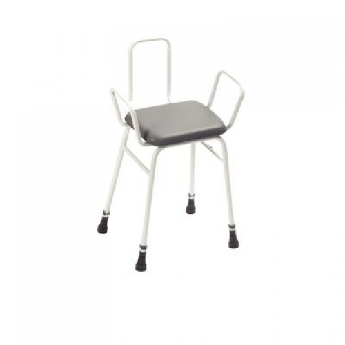 Adjustable Height Perch Stool image