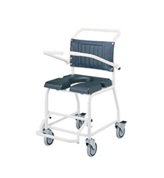 Attendant-propelled shower commode chair image cover