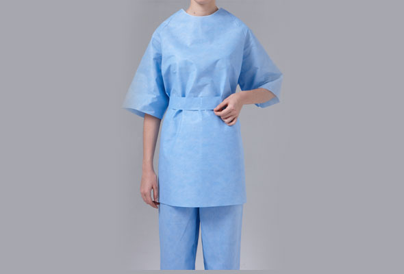 Caressential Short Sleeve Patient Gown image cover