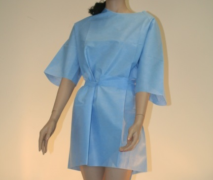 Caressential Chest Wrap Gown image cover