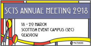 SCTS Annual Meeting, 18 – 20 March, SEC Glasgow image cover