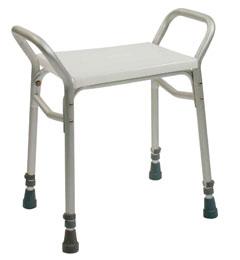 Lightweight aluminium adjustable height shower stool image cover