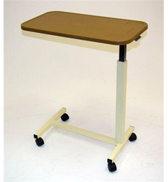 Overbed Table with Plastic Top image