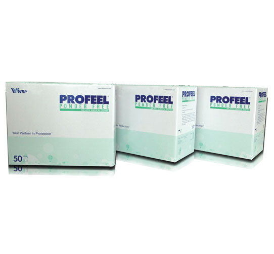 PROFEEL®  Powder Free Latex Surgical Gloves, Sterile image