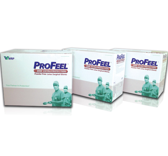 PROFEEL®  DHD Extra Protection Powder Free, Sterile image
