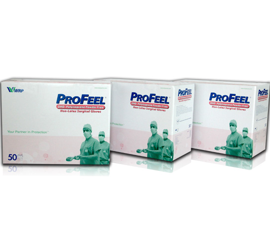 PROFEEL® DHD Polyisoprene Powder Free, Sterile image
