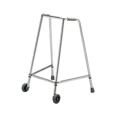 Narrow Wheel Adjustable Height Walking Frame image