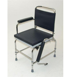 Standard Adjustable Height Static Commode image cover