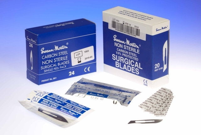 Swann Morton Surgical Blades & Handles image cover