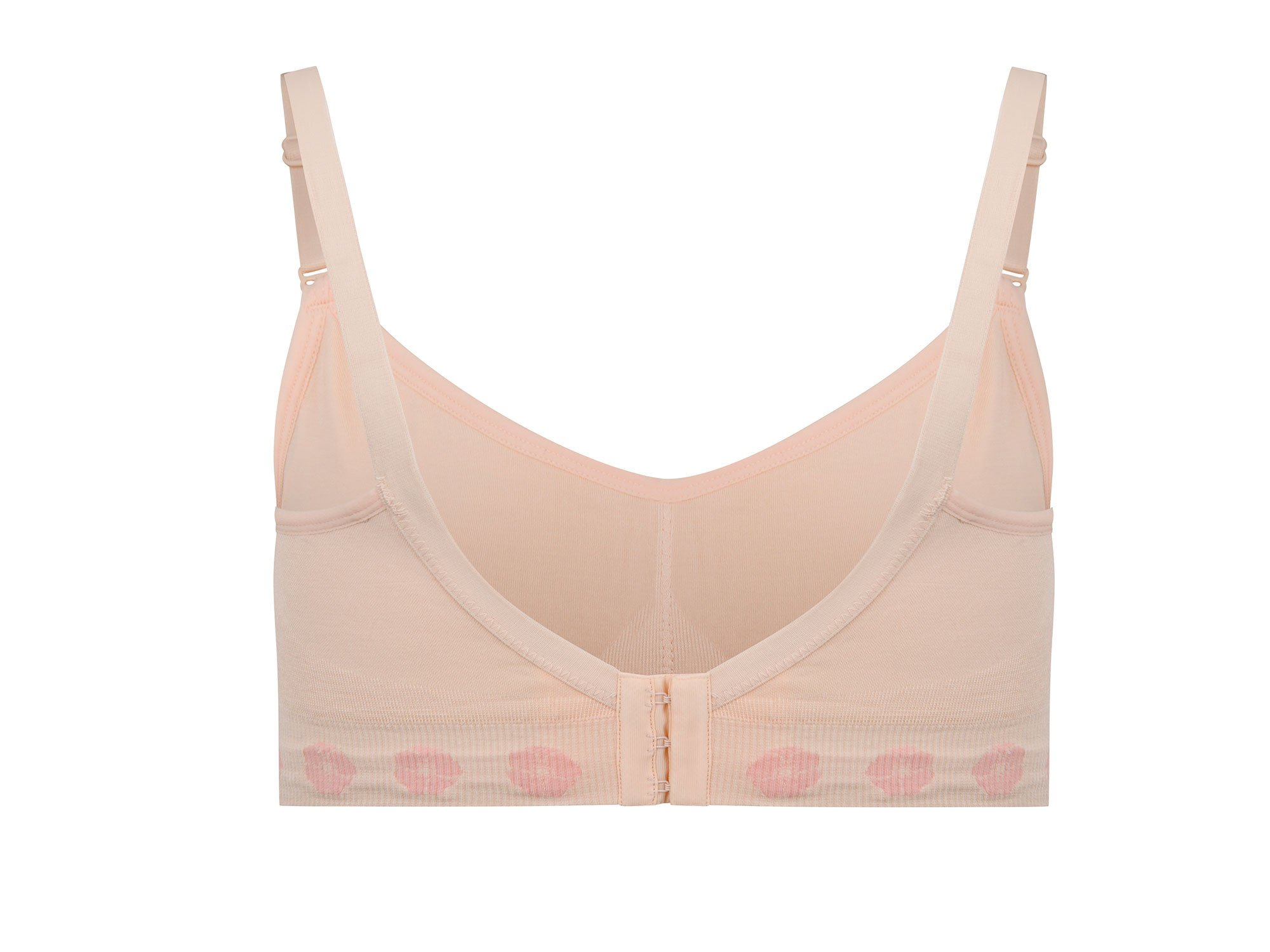 Fleur Back Fastening Comfort Bra – Light support image