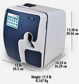 Prime Plus Blood Gas Analyser image