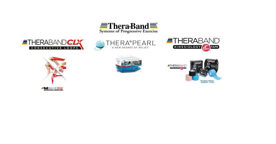Now distributing the Thera-Band range of products in Ireland. image
