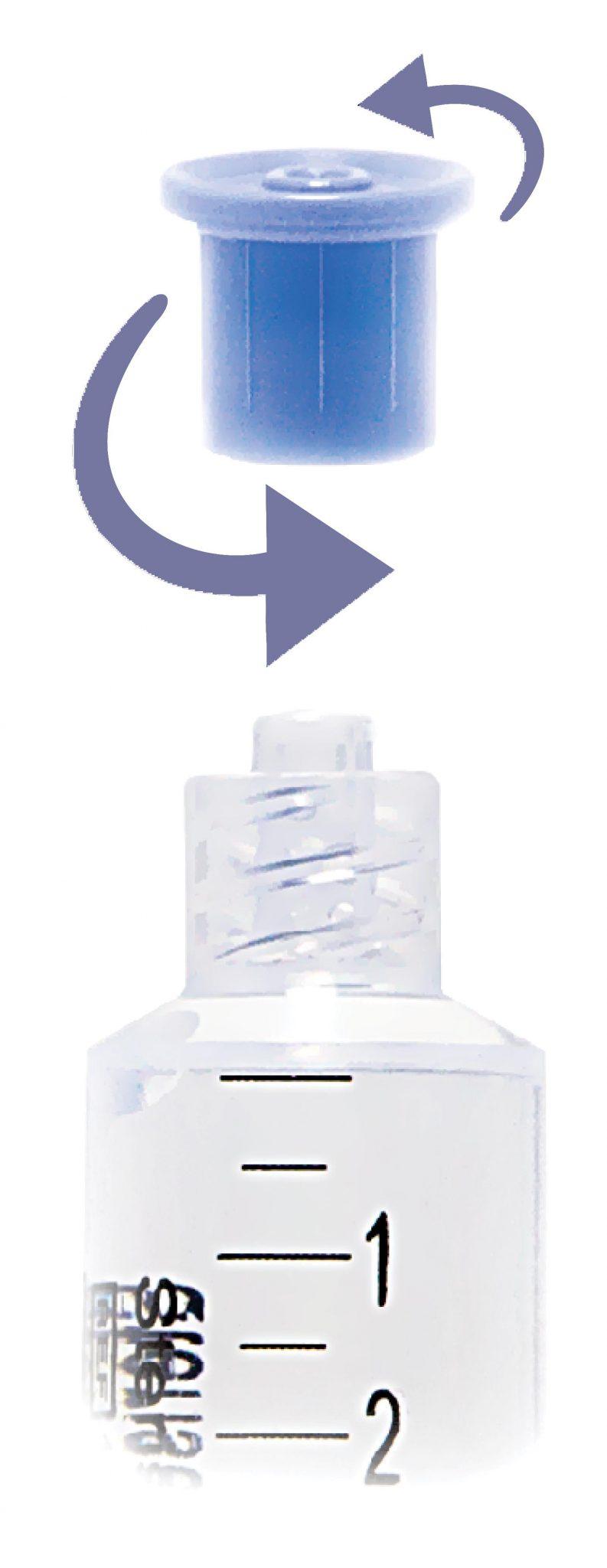 Sterisets Prefilled Saline Syringes image