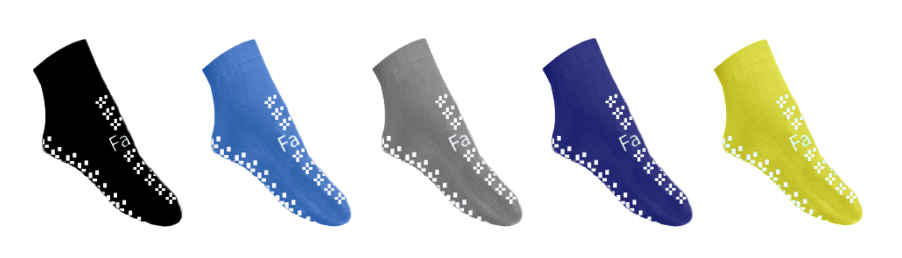 Launching…. SfTsox – double-sided anti-slip socks, designed to help reduce the risk of falls image cover