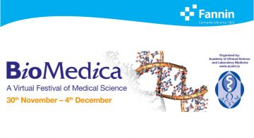 Biomedica – A Virtual Festival of Medical Science – 30th Nov – 4th Dec 2020 image cover